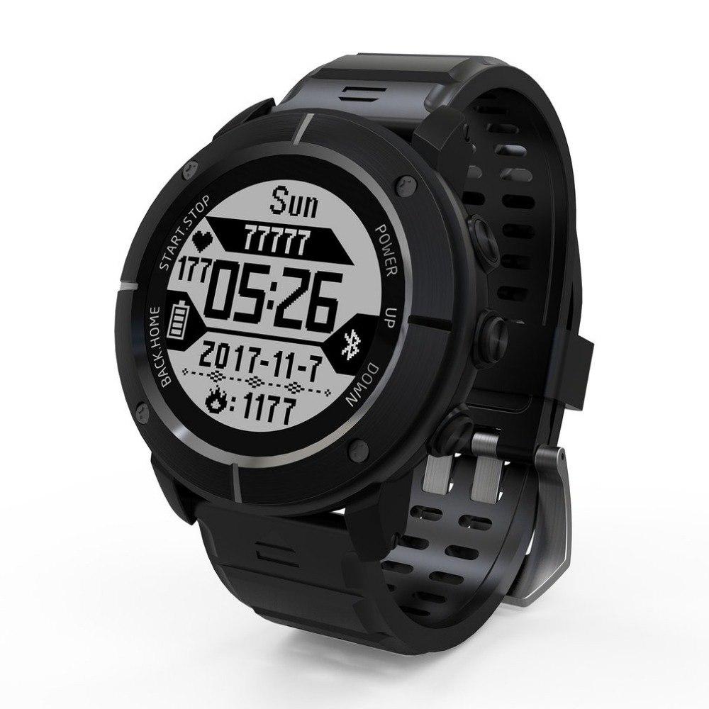 Waterdichte Smart-Horloge IP68 Sport GPS UW80C OLED Afstandsbediening