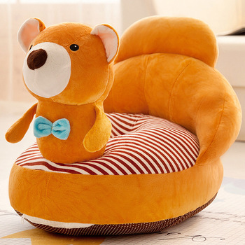 Cartoon Kids Sofa Soft PP Cotton Baby Chair Living Room