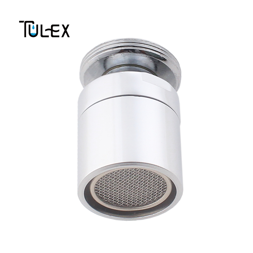 TULEX Water Saving Kitchen Shower Head 24MM Male Thread Faucet Swivel Aerator Brass Bidet Faucet Spout Bubbler Filter for Crane