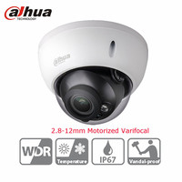 Dahua CCTV 3MP Camera IK10 IPC HDBW4300R Z IR HD 2 8mm 12mm Varifocal Motorized Lens