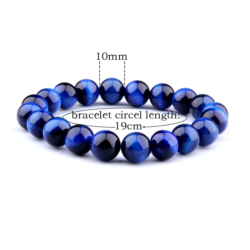 Vinswet Natural stone Bracelet lapis lazuli Beads Bracelet For Men friendship bracelet Yoga Jewelry Gift for Him