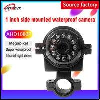 Otomobiller ve Motosikletler'ten Araç Kamerası'de Nokta çok sayıda AHD 1080 P 2 milyon piksel araba kamera HD kızılötesi gece görüş otobüs/sanitasyon araba/yarı römork/forklift