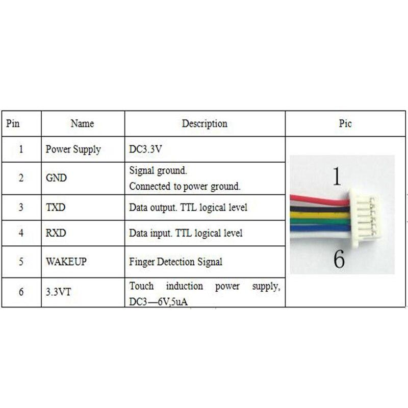 Image 5 - K215 V1.2+R503 Normally Open Relay Function Fingerprint Control Board For Motorcycle Car Door Lock Access ControlFingerprint Recognition Device   -