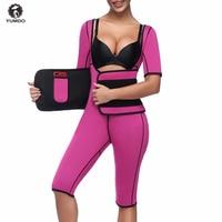 Hot Shapers Full Body Shaper Tummy Control Corsets Neoprene Bodysuit Sauna Suit Waist Trainer Slimming Underwear Butt Lifter