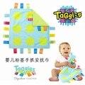 Toalla Placarders taggies juguetes del bebé recién nacido tranquilizar al 0.06