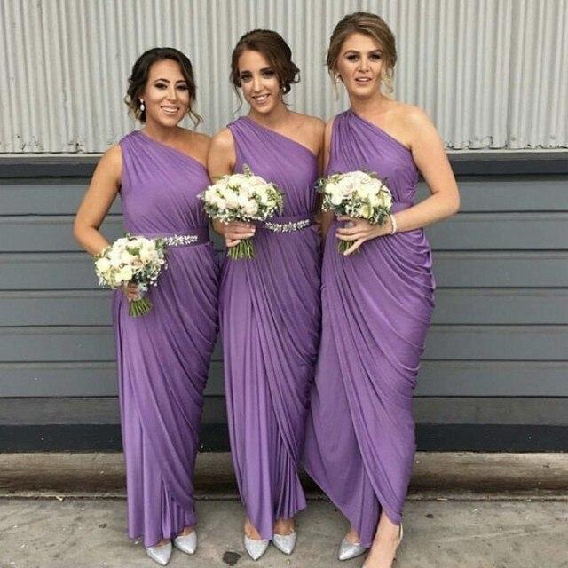 Yellow Silk Bridesmaid Dresses
