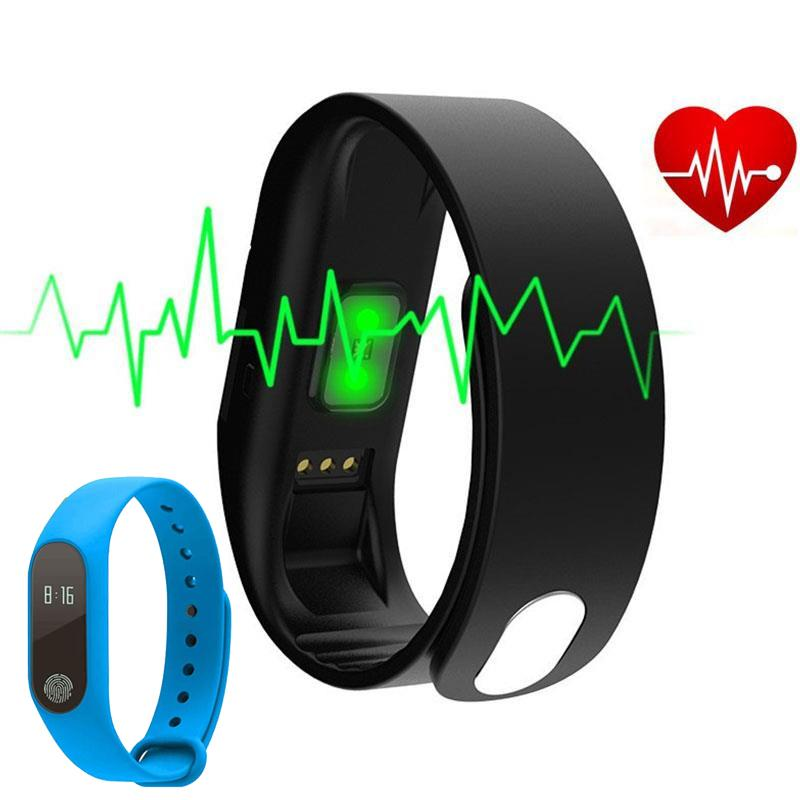 Snzvok Smart Wristband M2 Smart Bracelet Heart Rate Monitor Pedometer Waterproof Bluetooth For iOS Android For Men Women