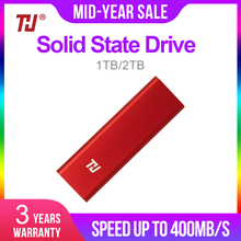 THU Оригинальный Мини SSD 128 Гб внешний твердотельный накопитель 256 ГБ 512 1 ТБ Портативный SSD USB3.1 400 МБ/с. для портативных ПК Тетрадь