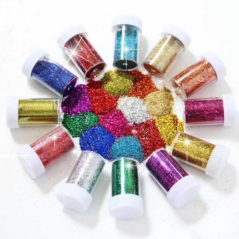 Xlw001 Glänzende Nagel Glitter Pulver beste qualität Nagel Staub Pulver Meerjungfrau Maniküre Nail art Glitter
