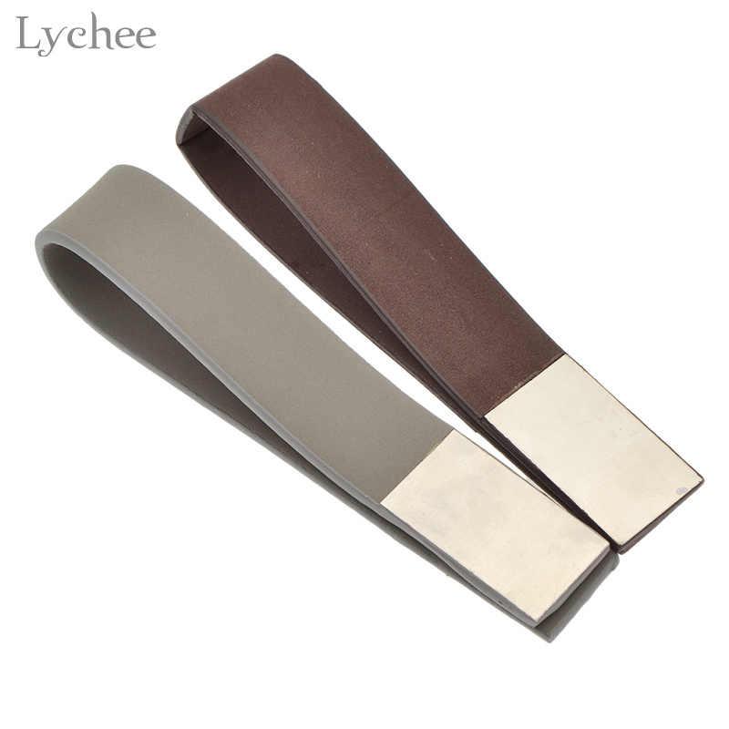 Litchi 1pc cuir magnétique rideaux Tieback aimant rideaux boucle porte-rideau rideau sangle accessoires