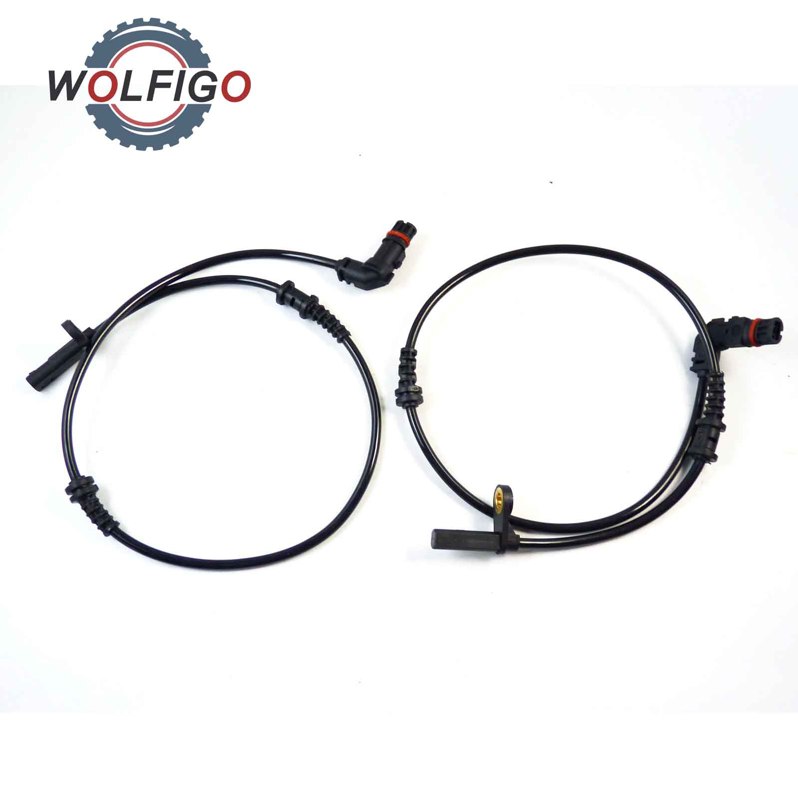 WOLFIGO 2Pc ABS Wheel Speed Sensor Front Left Right