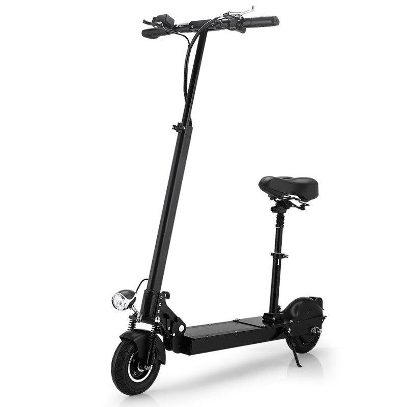 Livraison gratuite dans l'ue Patinete Electrico Adulto E Scooter Ultron-01 aller au travail rue avec sièges pliable extrême léger