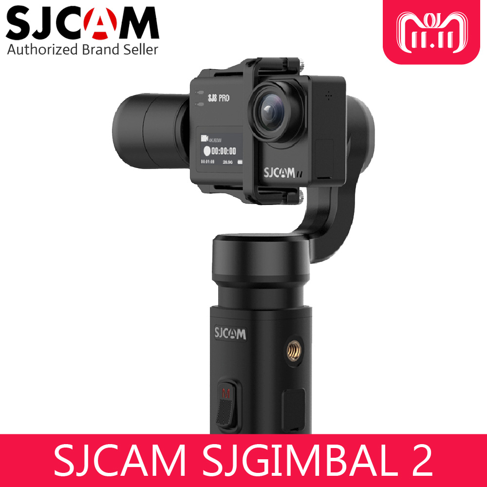 SJCAM SJGimbal Handheld Gimbal 3 Axis Stabilizer for SJ8 Pro SJ7 Star SJ6 Legend Action Camera цена