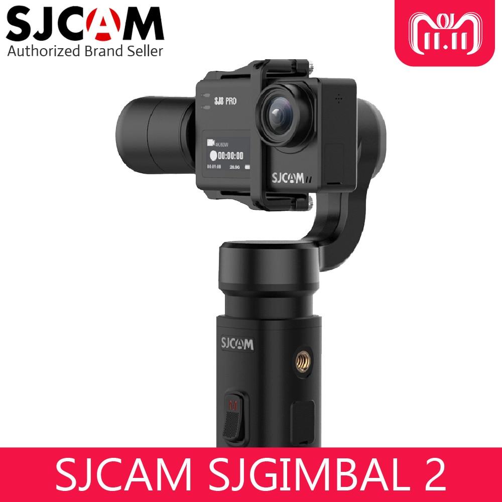 SJCAM SJGimbal Handheld Gimbal 3 Axis Stabilizer for SJ8 Pro SJ7 Star SJ6 Legend Action Camera sjcam 2 in 1 car kit for sj6 legend sj7 star sj360