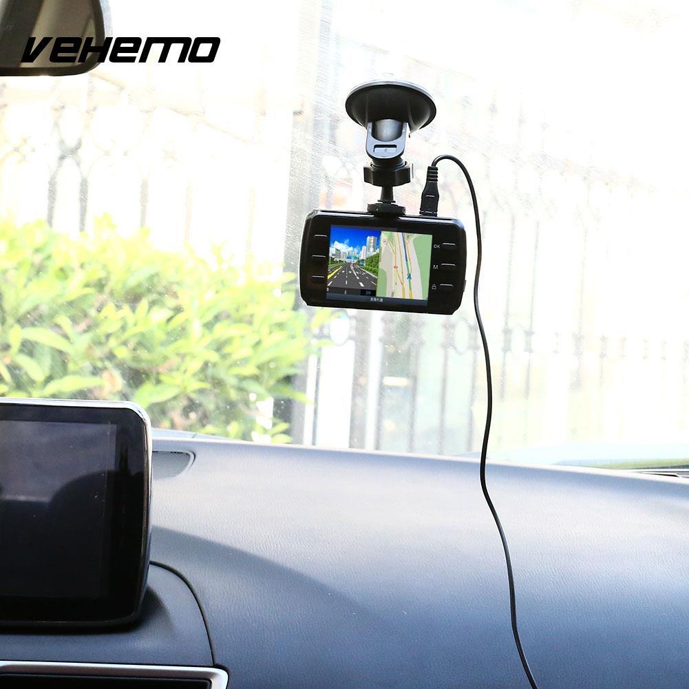 2.4 Inches Car DVR HD Night Vision Dash Cam LED Video Recorder T9 DC 5V