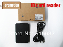OEM NO LOGO New Security Black USB Proximity Sensor Smart RFID ID Card Reader 125Khz EM4100