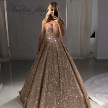 Radia May Glitter Sequin Dubai Ball Gown Evening Dress 2019. US  169.60    piece Free Shipping b6525adf560c