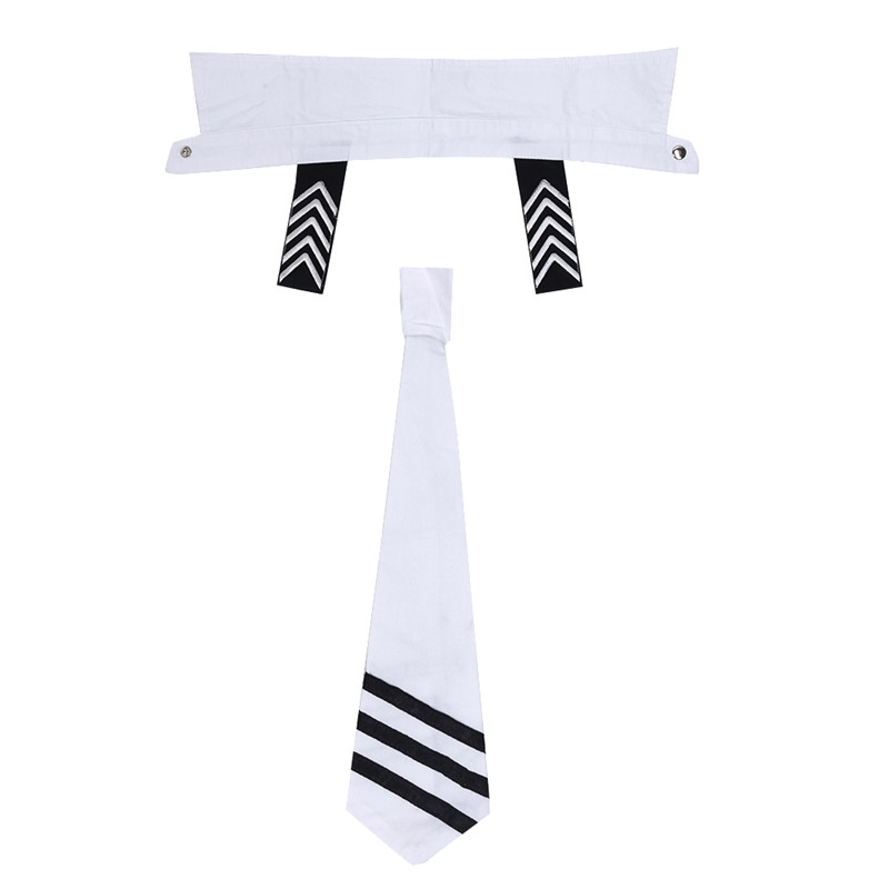 Image 5 - Adult Men Lingerie Sexy Sailor Cosplay Costumes Carnival Navy Uniform Shorts with Cap Collar Tie Cuffs Cosplay Party NightwearSexy Costumes   -