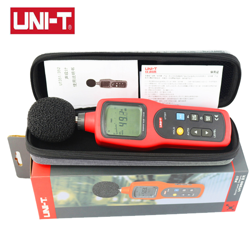 Sound Level Meters 30~130dB frequency 31.5Hz~8000Hz Noise Monitor with LCD Backlight sound tester tp760 765 hz d7 0 1221a