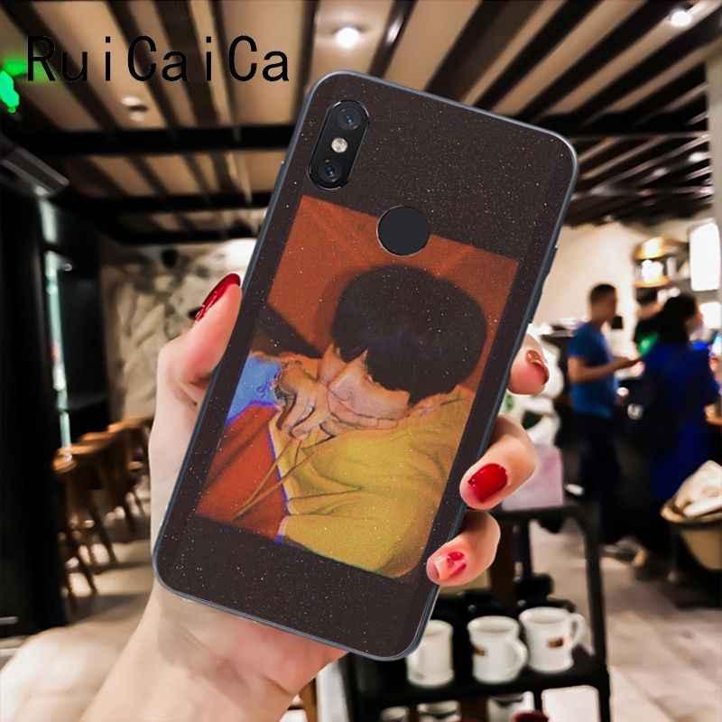 Ruicaica KPOP mode Ji mi n Suga RM TPU housse de téléphone pour Xiao mi mi 6 mi x2 mi x2S Note3 8 8 lite rouge mi 5 note5 Note4 4X