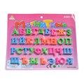 33 pcs 2 cm Russo Letras Do Alfabeto Magnético, Educacionais do bebê & Brinquedo de Aprendizagem