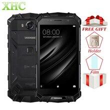DOOGEE S60 LITE IP68 Водонепроницаемые мобильные телефоны 5,2 ''5580 mAh 4GB 32GB MT6750T NFC Android 7,0 с беспроводной зарядкой и двумя sim-картами