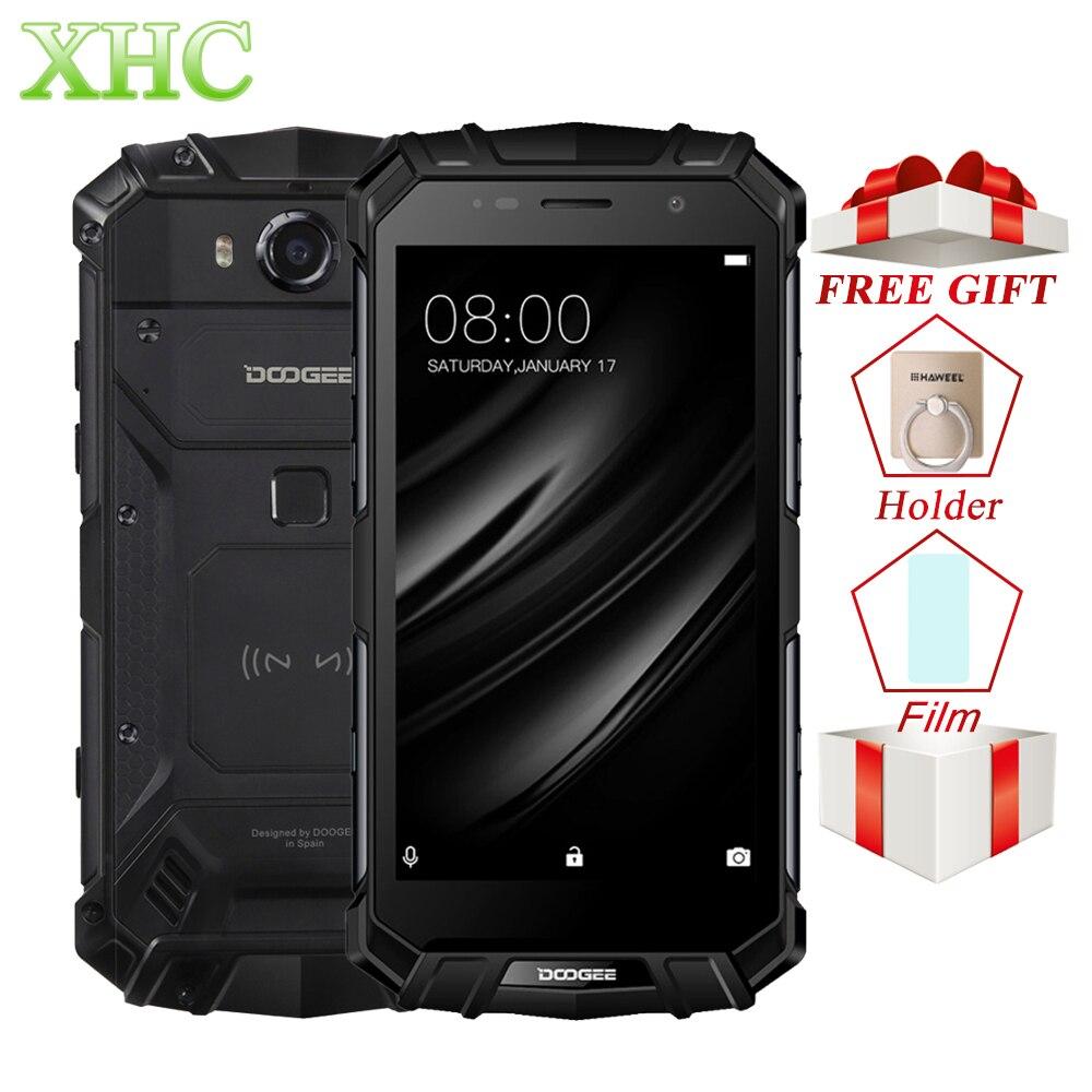 DOOGEE S60 LITE IP68 Waterpoof Telefoni cellulari e Smartphone 5.2 ''5580 mah 4 gb 32 gb MT6750T NFC Android 7.0 di Carica Senza Fili dual SIM Smartphone