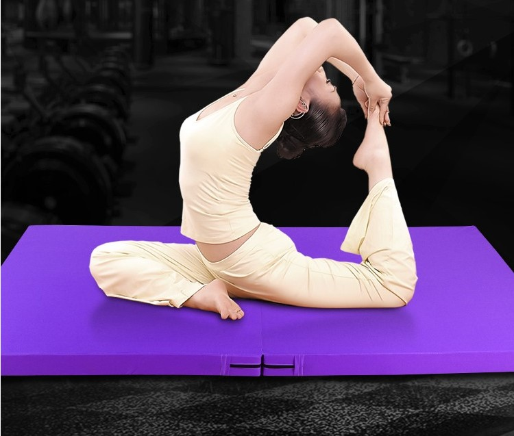 High quality!180x60x5cm Multifunctional Oxford Blue Folding Gym Mat Gymnastics Aerobics Exercise Sport Yoga Pilates Tumbling Mat folding gym yoga mat high jump sponge mat exercise aerobics gymnastics stretching yoga mat sit up sponge mat silicone