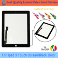 LL TRADER 100% Tested Touch Screen Replacement Tablet Parts For iPad 3 iPad 4 Touch Screen Digitizer Front Glass Assembly+Tools