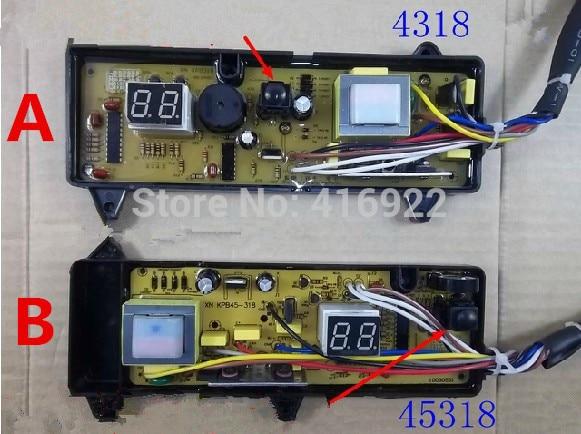 Free shipping 100% tested for JINLING washing machine board Computer board XQB45-308G XQB4318 NCXQ-318 XQB45-308 motherboard free shipping 100% tested for tcl washing machine board xqb60 51sz motherboard 11210393 ncxq 9888 on sale