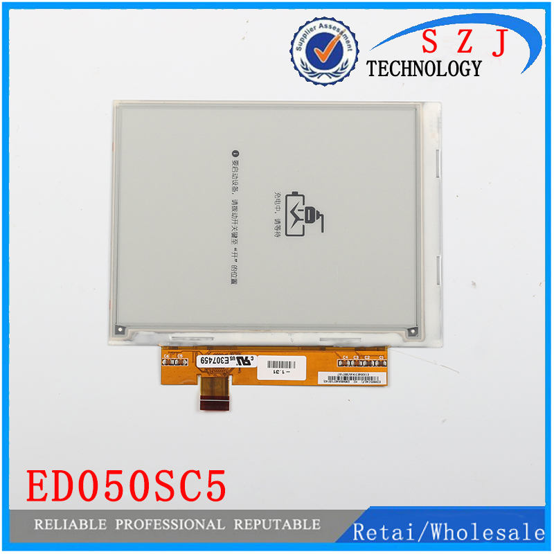 New 5 inch tablet pc for LCD Display ED050SC5 e-ink for pocketbook 515 Reader lcd screen free shipping