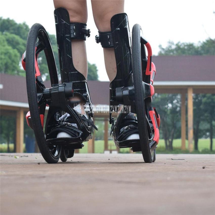 Patins à roulettes en caoutchouc de glissement de planche à roulettes de Freeline de rue extérieure 20 pouces 2 grandes roues chaussures de patinage en ligne adultes taille 37-45 TF-01