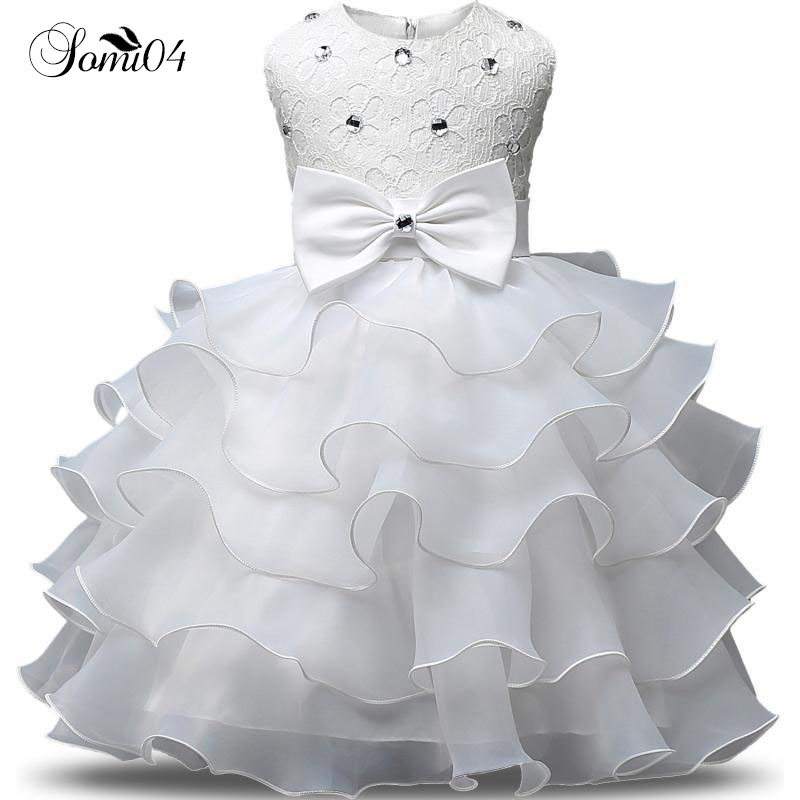 Summer Formal Kids Dress For Girls New 2018 Princess Wedding Party Clothes 1 2 3 4 5 6 7 8 9 Years Bridesmaid Children Clothing 2 3 4 5 6 7 8 years girls dress 2018 new thick velvet winter spring kids clothes ruffles long sleeve children princess clothing
