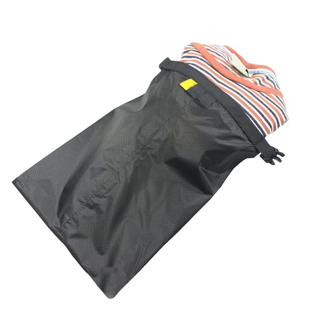 Coated silicone fabric pressure waterproof dry  bag  Storage Pouch Rafting Canoeing Boating dry bag 1.5/2.5/3.5/4.5/6 L