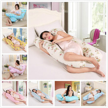 Multifunctional Maternity Comfortable Pregnant Pillow Pregnancy Removable U-Shaped Total Body 8 styles