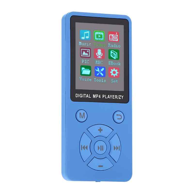 Support 32G TF Card Mini Shiny USB Clip LCD Screen MP4 Media Player  Ultra thin Lossless Sound 1.8'' Mp4 Player with FM E-book