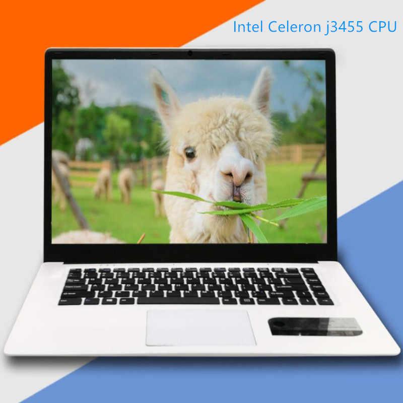RAM 8GB + 480GB SSD Hỗ Trợ HDD Laptop Laptop LED 15.6inch 16:9 HD 1920x1080P intel J3455 Quad Core HD Graphics Windows10