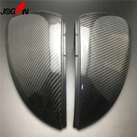 Carbon Fiber For VW Golf 7 MK7 MK7.5 R GTI GTE GTD VII 2013 2018 Touran 2016 17 Car Side Rearview Back Mirror Cover Replacement