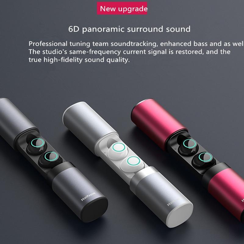 Écouteurs Bluetooth TWS imperméables et anti-transpiration écouteurs sans fil Bluetooth casque stéréo Bluetooth 5.0