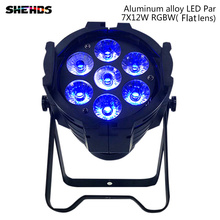 Aluminum alloy LED 7x12w casting Can Par Light RGBW 4in1 LED Stage Light Disco DJ Lighting Strobe Effect DMX512 стоимость