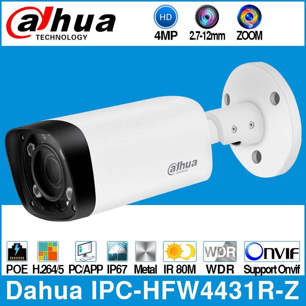 Dahua IPC HFW4431R Z 4MP POE IP Camera 80m MAX IR Night 2 7 12mm VF