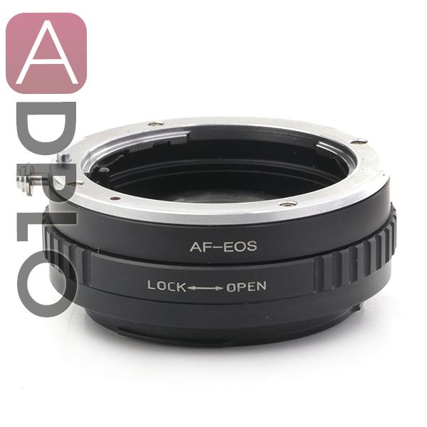 Segundo ajustable óptico af traje adaptador confirmar para sony alpha minolta ma lente para canon e0s ef 450d 500d 550d 600d 5d ii cámara