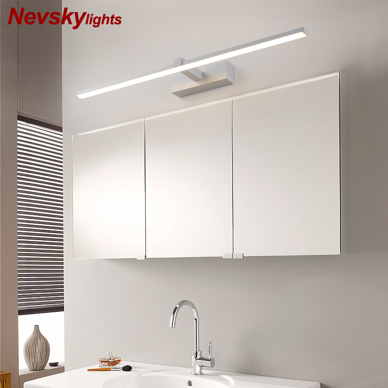 Modern minimalist Mirror front lamps for bathroom led Wall lamp led fixtures dressing table Wall lighting for makeup barbershop