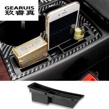 Стайлинга автомобилей интерьера подстаканник декоративная рамка телефона держатель для карт органайзер для хранения Box Audi A4 B8 A5 авто аксессуары