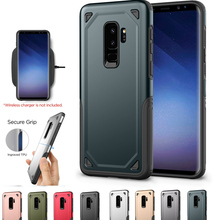 New Armor Phone Case For Samsung S8 S9 Plus Note 8 Hybrid Shockproof A6 A8 2018 Rugged Cover