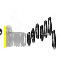 "Image 3 - Foleto 7 יחידות טבעת 49 52 55 58 62 67 72 77mm 7 יחידות מתכת צעד עד טבעות עדשת מתאם מסנן סט 49 מ""מ 52 מ""מ 58 מ""מ 62 מ""מ 67 מ""מ 72 מ""מ 77 מ""מ"