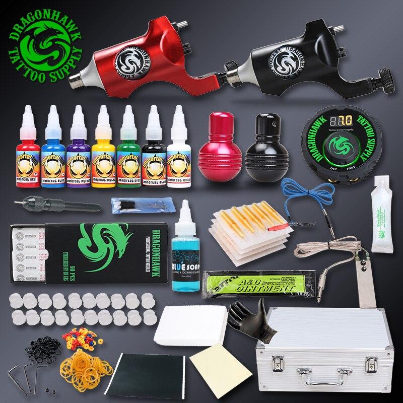 Professional tattoo rotary kit tattoo motor machine set for Where to get tattoo supplies