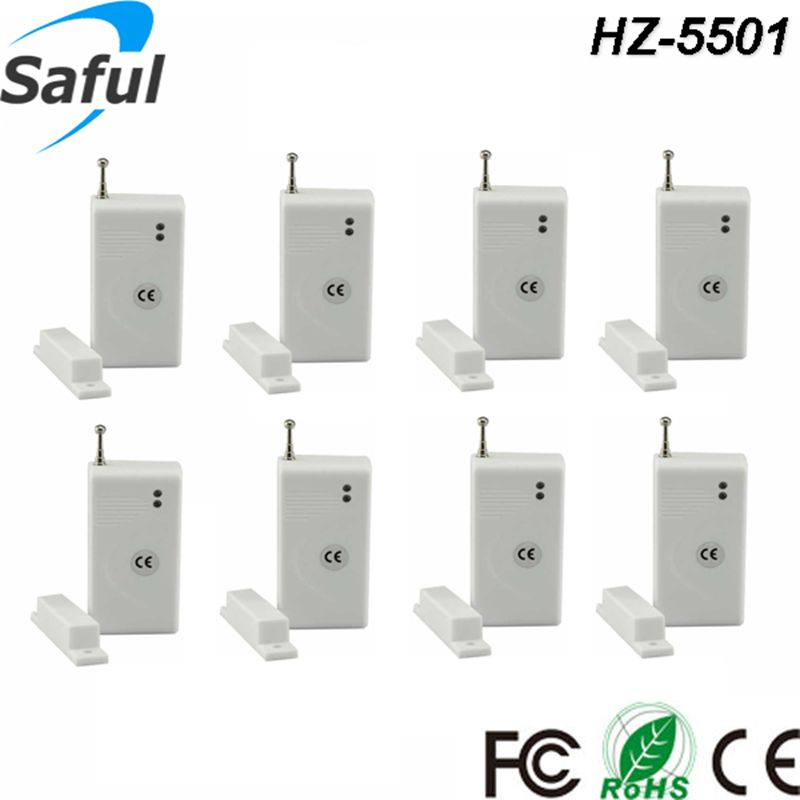 Contact Security: Free Shipping!8pcs/lot Wireless 315/433mhz Door Windows