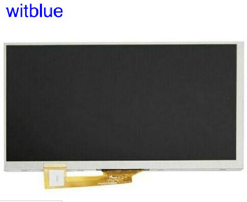 Witblue New LCD Display Matrix For 7 Tablet fpc0703007_b 30Pins 163*97mm inner LCD screen panel Module Replacement genuine 11 6 laptop 30 pins led lcd screen display panel matrix for au optronics b116xtn01 0 n116bge e42 n116bge e32 1366x768