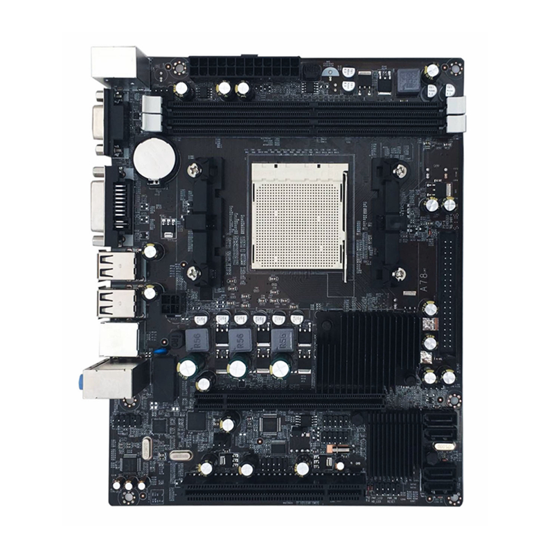 New 216*168mm Desktop A780 Computer Motherboard 4*SATA2.0 2DDR2 4GB Ram PC Mainboard Double Channel DVI VGA Suppotr For AMD AM2 100% new ati 216 0728018 216 072018 new bga ic chips 2016year